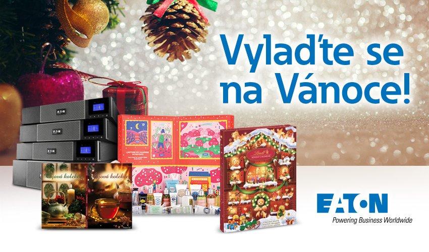 K vybraným UPS značky Eaton teď dostanete adventní kalendář s kosmetikou, čokoládou nebo čaji.