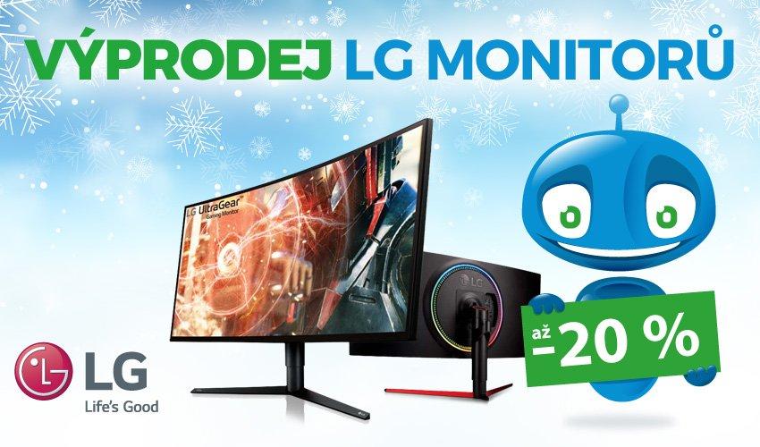 Výprodej LG monitorů