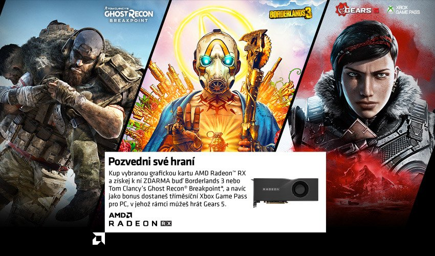 AMD - Pozvedni své hraní