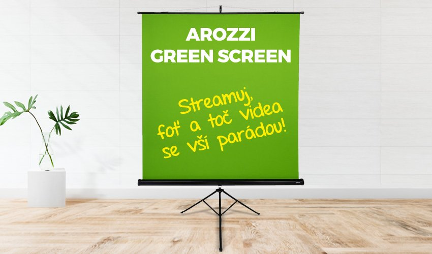 Arozzi green screen