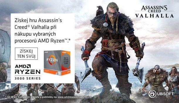 Vyzbrojený k vítězství s AMD Ryzen.