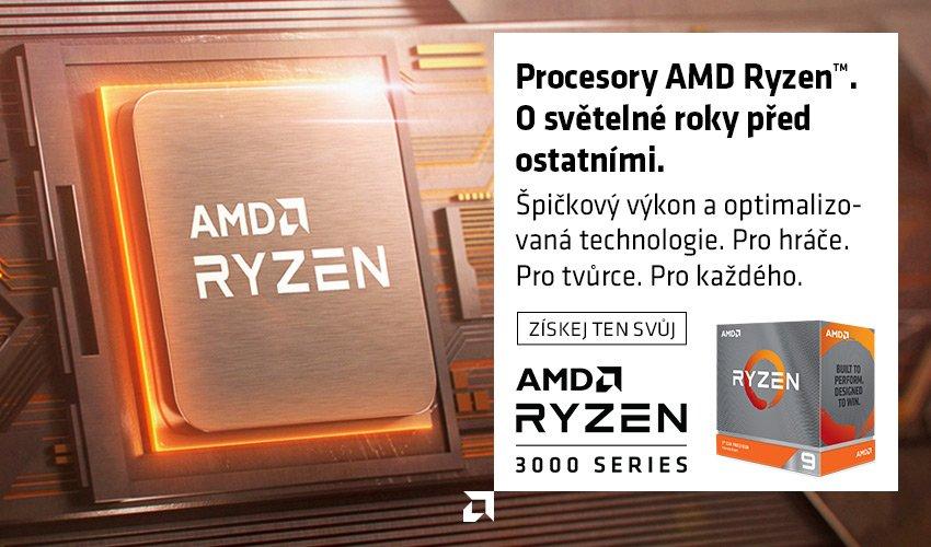 AMD Ryzen řady 3000.