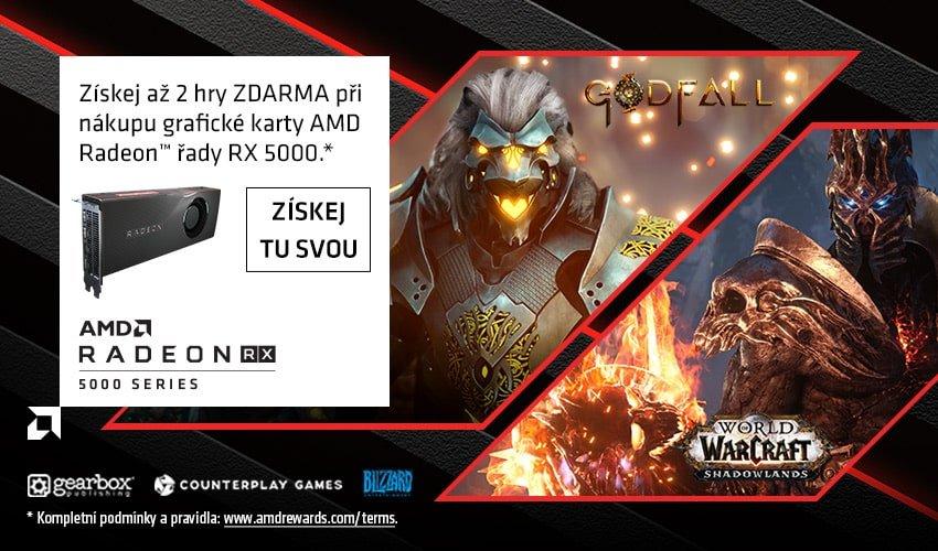 Pozvedni své hraní s AMD Radeon.
