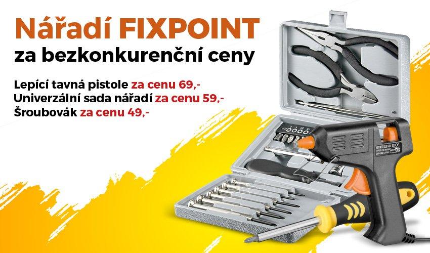 Nářadí FIXPOINT za bezkonkurenční ceny