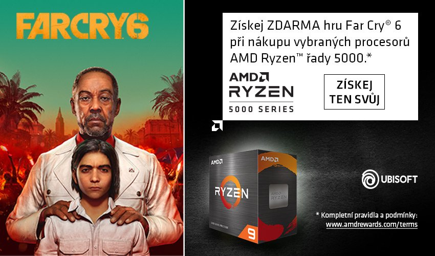 Far Cry 6 od AMD k řadě 5000.