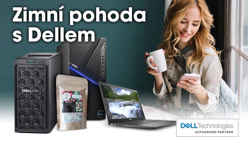 Ke všem notebookům, počítačům a serverům Dell dostanete praženou kávu z Barmy