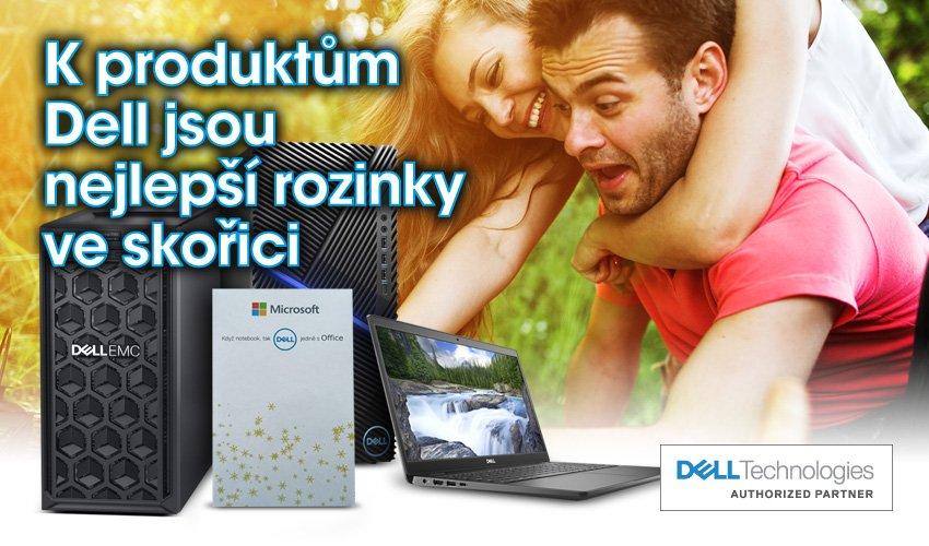 Ke všem notebookům, počítačům a serverům Dell dostanete rozinky ve skořici.