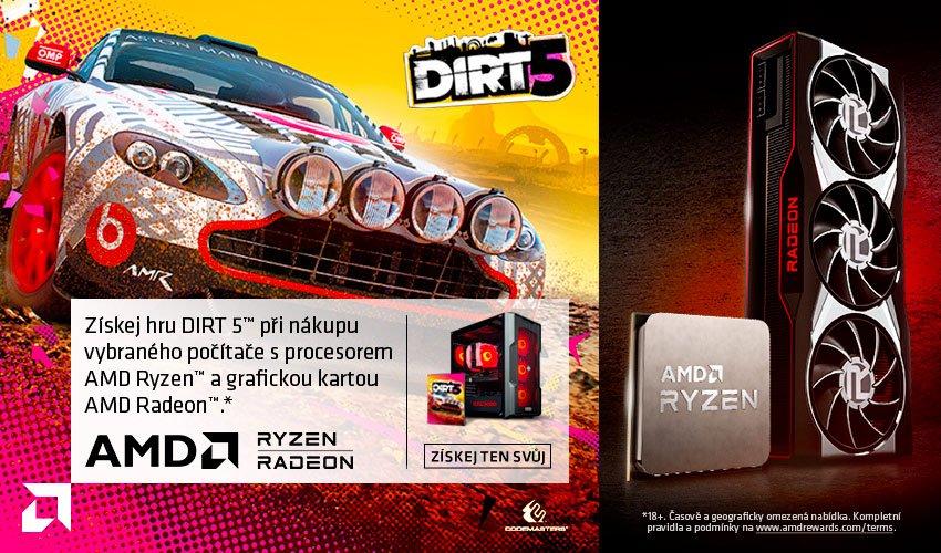 HAL3000 + Dirt 5 od AMD