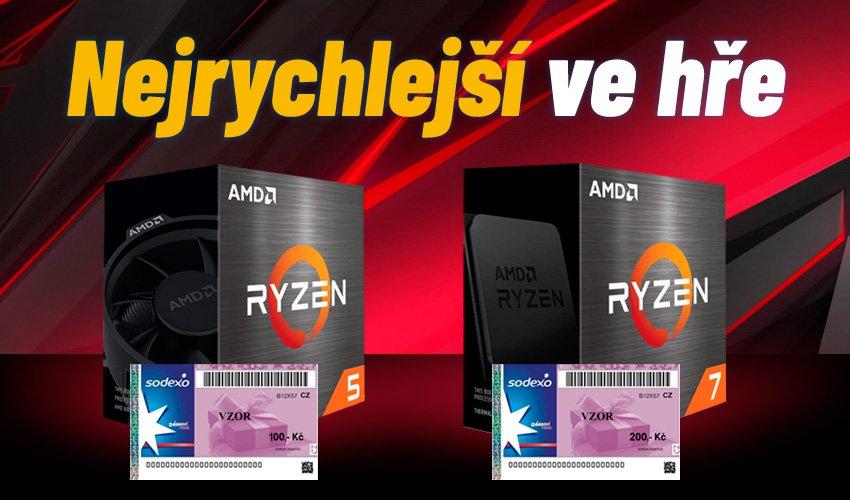 Nejrychlejší ve hře - AMD.