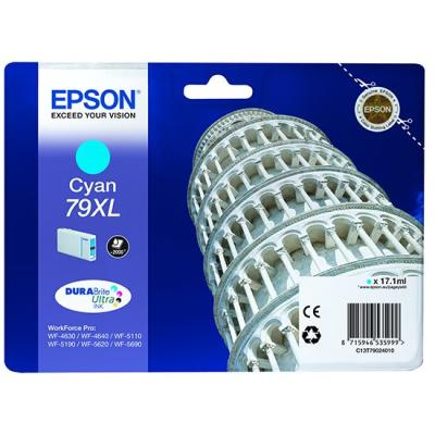 Inkoustová náplň Epson T7902 modrá