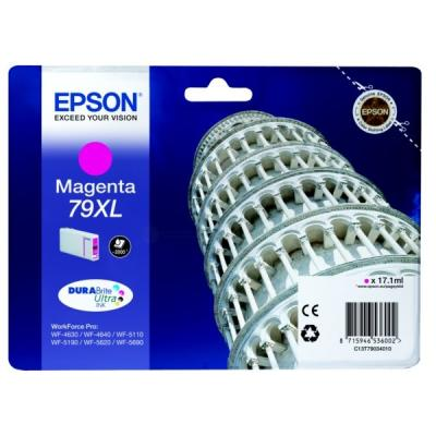 Inkoustová náplň Epson T7903 červená