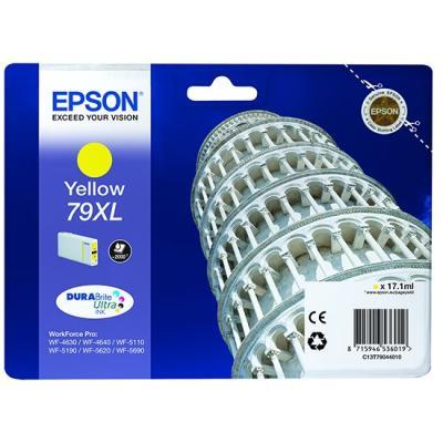 Inkoustová náplň Epson T7904 žlutá