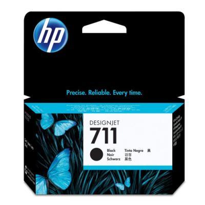 Inkoustová náplň HP 711 (CZ129A) černá