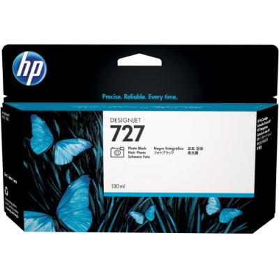 Inkoustová náplň HP 727 (B3P23A) foto černá