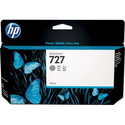 Inkoustová náplň HP 727 (B3P24A) šedá