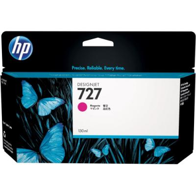 Inkoustová náplň HP 727 (B3P20A) červená