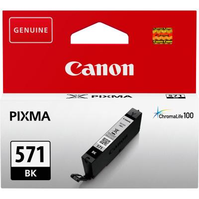 Inkoustová náplň Canon CLI-571Bk XL černá
