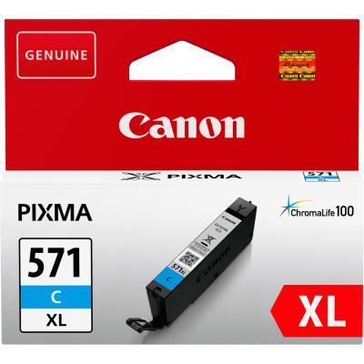 Inkoustová náplň Canon CLI-571C XL modrá