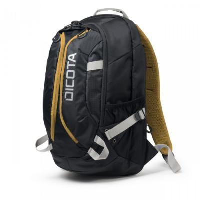 "Batoh DICOTA Backpack Active 14-15,6"" černo-žlutý"