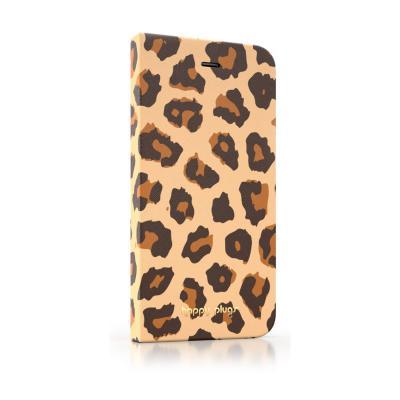 Pouzdro Happy Plugs iPhone 6 Flip Leopard