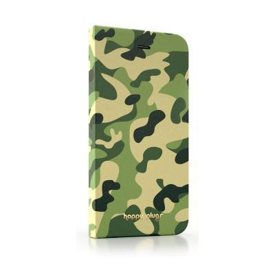 Pouzdro Happy Plugs iPhone 6 Flip Camouflage