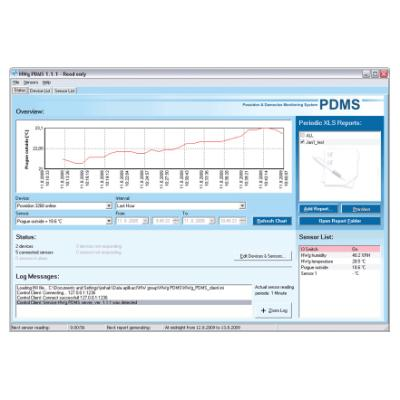 Monitorovací software HWg HWg-PDMS 8