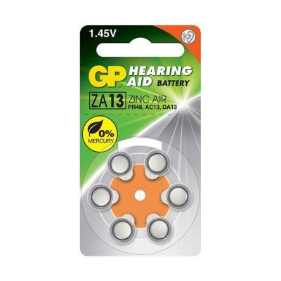 Baterie GP do naslouchadel ZA13 6ks