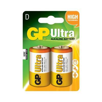 Baterie GP 1,5V LR20 (D) Ultra 2ks
