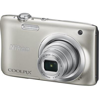 Digitální fotoaparát Nikon Coolpix A100 stříbrný