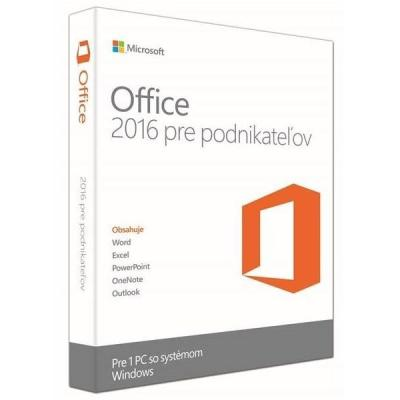 Software MS Office pro podnikatele 2016