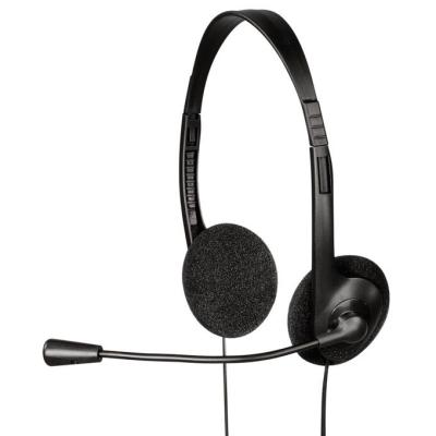 Headset Hama headset HS-101 černý