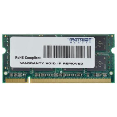 Operační paměť Patriot 2GB DDR2 800MHz SO-DIMM