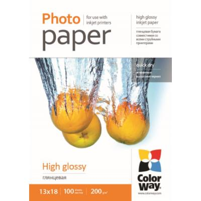 Fotopapír ColorWay High Glossy 13 x 18 100 ks