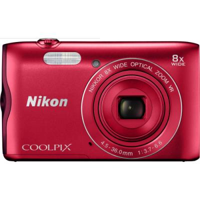 Digitální fotoaparát Nikon Coolpix A300 červený