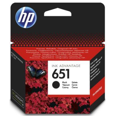 Inkoustová náplň HP 651 (C2P10AE) černá