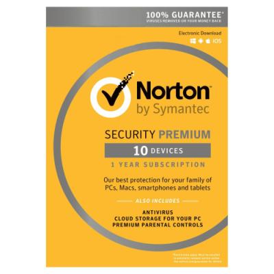 Antivir Symantec Norton Security Premium 3.0