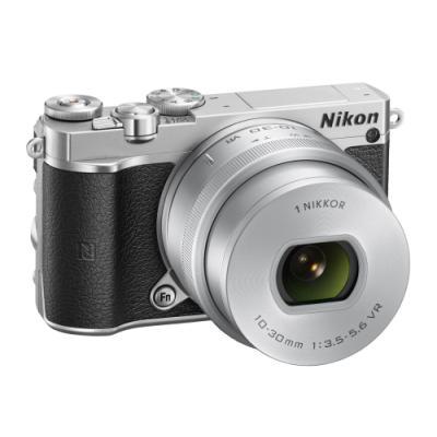 Digitální fotoaparát Nikon 1 J5 + 10-30mm stříbrný