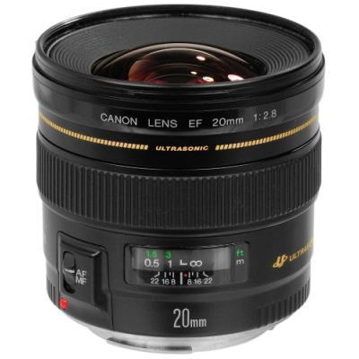 Objektiv Canon EF 20 mm f/2,8 USM
