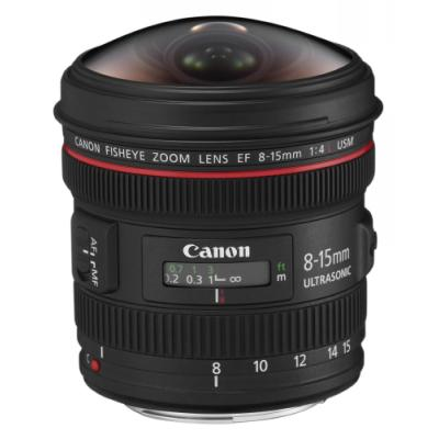 Objektiv Canon EF 8 - 15mm f/4 L USM Fisheye