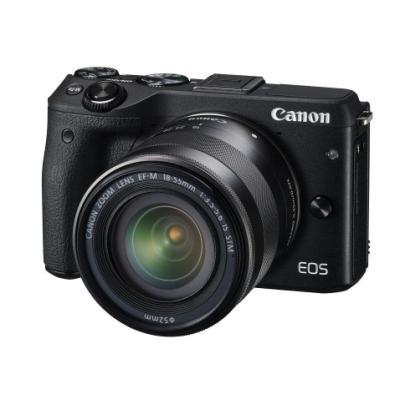 Digitální fotoaparát Canon EOS M3 + EF-M 18-55 mm