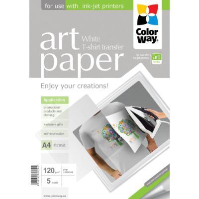 Fotopapír ColorWay Art Paper nažehlovací 5 ks