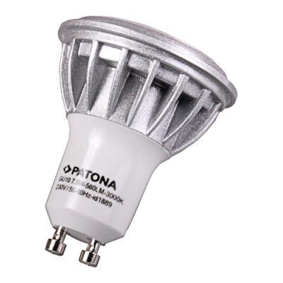 LED žárovka PATONA GU10 7,5 W teplá bílá