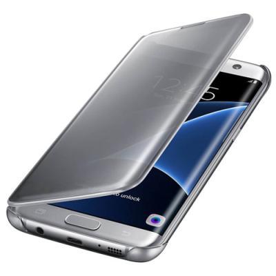 Pouzdro Samsung Clear View EF-ZG935CSEGWW stříbrné