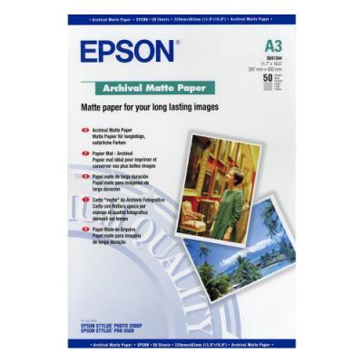 Fotopapír Epson Archival Matte Paper 50ks, S0413