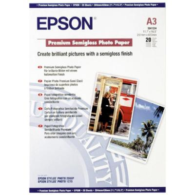 Fotopapír Epson Premium Semigloss Photo Paper 20ks