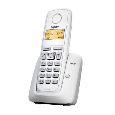 Bezdrátový telefon Siemens GIGASET A120 bílý