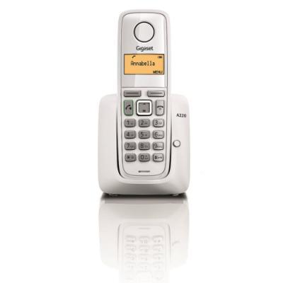 Bezdrátový telefon Siemens GIGASET A220 bílý
