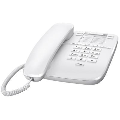 Standardní telefon Siemens GIGASET DA310 bílý