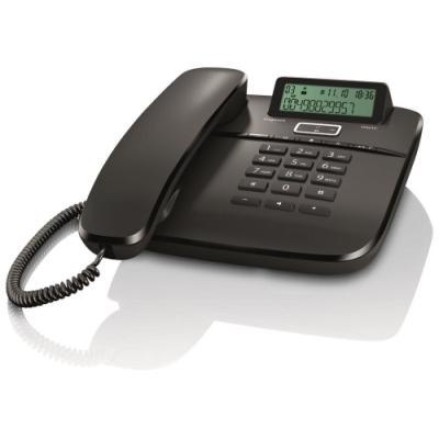Standardní telefon Siemens GIGASET DA610 černý