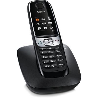 Bezdrátový telefon Siemens GIGASET C620 černý